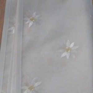 Embroidered Floral Vanity Table Runner